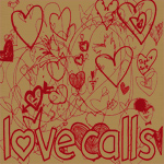 "Bob Corn / Larry Yes - ""Love calls"" 7""  2009"